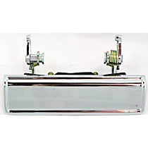 Front, Driver or Passenger Side Exterior Door Handle, Chrome