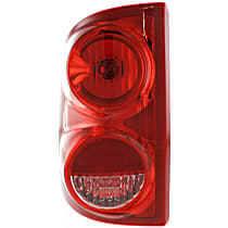 CAPA Certified Driver Side Tail Light
