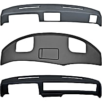 1004-15013 Plastic Dash Cover - Black