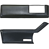 1620R-15043 Arm Rest Cover - Direct Fit