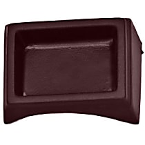 285CT-15063 Console - Burgundy, Plastic, Direct Fit, Sold individually