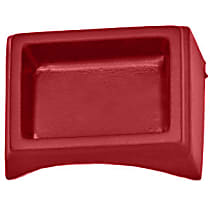 285CT-15363 Console - Portola red, Plastic, Direct Fit, Sold individually
