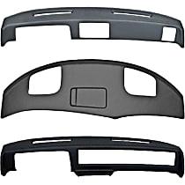 316-15013 Plastic Dash Cover - Black