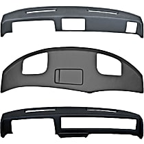 Plastic Dash Cover - Black