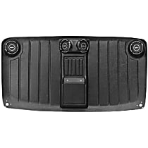 H-207 Headliner - Black, Plastic, Direct Fit, Sold individually