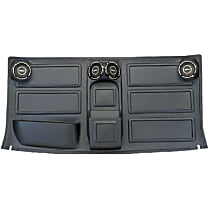 Headliner - Black, Plastic, Direct Fit, Sold individually