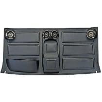 Dashtop H-24 Headliner - Black, Plastic, Direct Fit, Sold individually