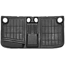 H-409 Headliner - Black, Plastic, Direct Fit, Sold individually