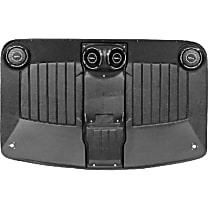 H-422 Headliner - Black, Plastic, Direct Fit, Sold individually