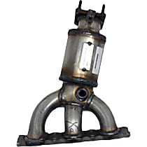 17293 Catalytic Converter - 46-State Legal (Cannot ship to CA, CO, NY or ME) - Driver Side