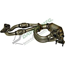 18265 Catalytic Converter - 46-State Legal (Cannot ship to CA, CO, NY or ME) - Front