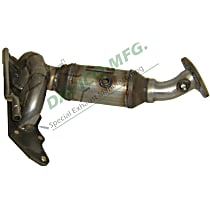 19242 Catalytic Converter - 47-State Legal (Cannot ship to CA, NY or ME) - Front