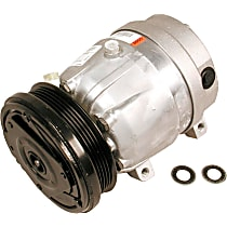 CS0055 A/C Compressor Sold individually with Clutch, 5-Groove Pulley