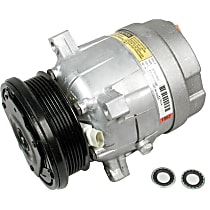 CS0059 A/C Compressor Sold individually with Clutch, 6-Groove Pulley