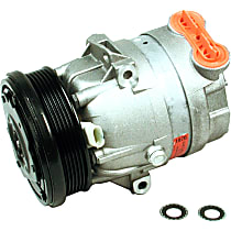 CS0077 A/C Compressor Sold individually with Clutch, 6-Groove Pulley