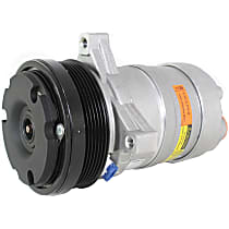 CS0087 A/C Compressor Sold individually with Clutch, 6-Groove Pulley