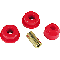 1-1205 Track Rod Bushing - Red, Polyurethane, Direct Fit