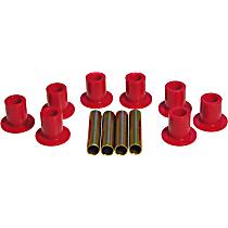 Prothane 4-1005 Leaf Spring Bushing - Red, Polyurethane, Direct Fit, Kit