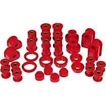 6-2019 Master Bushing Kit - Red, Polyurethane, Direct Fit, Kit