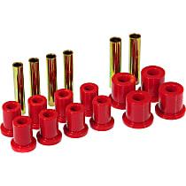7-1007 Leaf Spring Bushing - Red, Polyurethane, Direct Fit, Kit