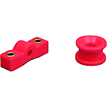 8-1601 Shifter Bushing - Red, Polyurethane, Direct Fit, Set of 2