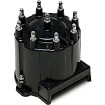 DC1016 Distributor Cap - Black, Direct Fit, Sold individually