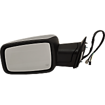 Mirror Power Folding Heated - Driver Side, Power Glass, In-housing Signal Light, Chrome