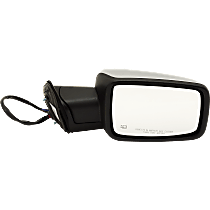 Mirror Power Folding Heated - Passenger Side, Power Glass, In-housing Signal Light, Chrome