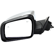 Mirror - Driver Side, Power, Heated, Power Folding, Chrome, With Turn Signal, Memory and Blind Spot Function