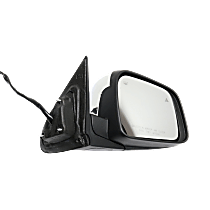 Mirror - Passenger Side, Power, Heated, Power Folding, Chrome, With Turn Signal, Memory and Blind Spot Function