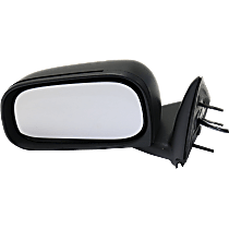 Mirror - Driver Side, Power, Folding, Textured Black, For Models With 6 x 9 Inch Housing