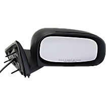 Mirror - Passenger Side, Power, Folding, Textured Black, For Models With 6 x 9 Inch Housing