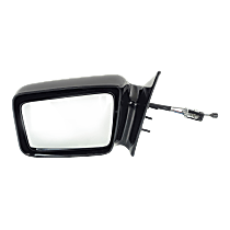 Mirror - Driver Side, Manual Remote, Paintable, 5 x 7 in. Housing