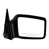 Mirror - Passenger Side, Manual Remote, Paintable, 5 x 7 in. Housing