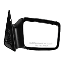 Mirror - Passenger Side, Paintable, 5 x 7 in. Housing