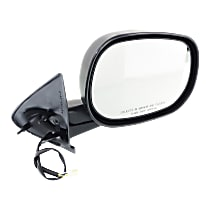 Mirror Manual Folding Non-Heated - Passenger Side, Power Glass, Textured Black