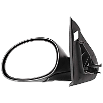 Mirror Manual Folding Heated - Driver Side, Power Glass, Paintable