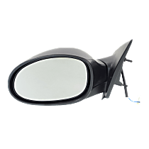 Mirror Manual Folding Non-Heated - Driver Side, Power Glass, Paintable