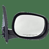 Mirror - Passenger Side, Folding, Textured Black