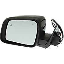 Mirror - Driver Side, Power, Heated, Folding, Paintable, With Turn Signal, Memory and Blind Spot Function