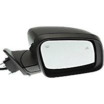 Mirror - Passenger Side, Power, Heated, Folding, Paintable, With Turn Signal, Memory and Blind Spot Function