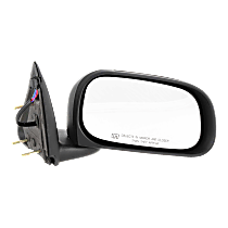 Mirror - Passenger Side, Power, Heated, Folding, Textured Black, 6 x 9 in. Housing