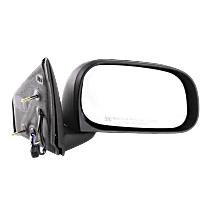 Mirror Manual Folding Heated - Passenger Side, Textured Black