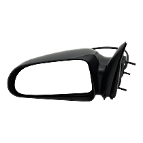 Mirror - Driver Side, Power, Textured Black, 5 x 7 in. Housing