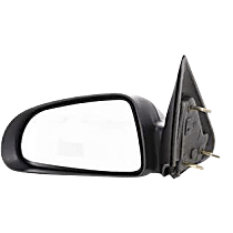 Mirror - Driver Side, Textured Black, 5 x 7 in. Housing