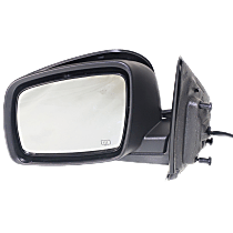 Mirror - Driver Side, Power, Heated, Folding, Paintable, Models With One Touch