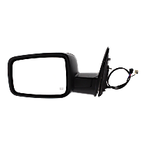 Mirror - Driver Side, Power, Heated, Folding, Textured Black, With Turn Signal and Puddle Lamp