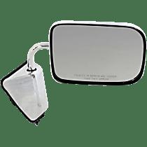 Mirror - Passenger Side, Chrome, 6 x 9 in. Housing