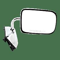 Mirror - Passenger Side, Power, Chrome, 6 x 9 in. Housing