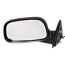 Mirror - Driver Side, Power, Folding, Textured Black, 6 x 9 in. Housing